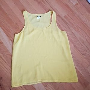 J. Crew silk sleeveless top size 4